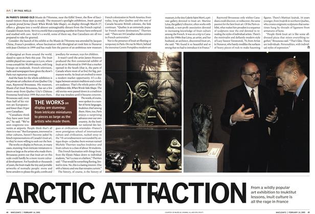 Article Preview: ARCTIC ATTRACTION, February 14th 2005 | Maclean's