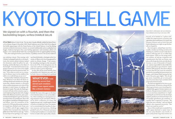 Article Preview: KYOTO SHELL GAME, February 28th 2005 | Maclean's