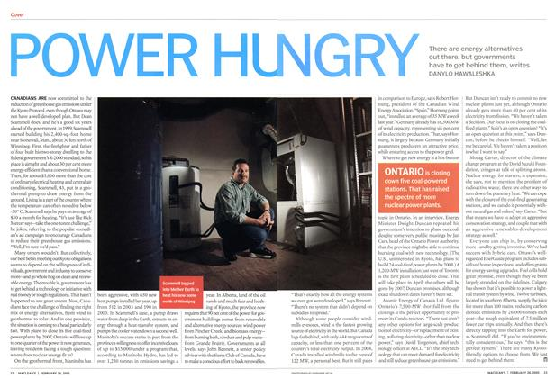 Article Preview: POWER HUNGRY, February 28th 2005 | Maclean's