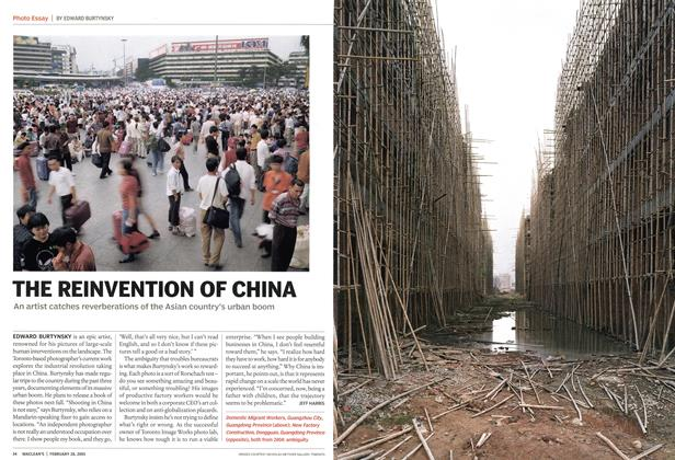Article Preview: THE REINVENTION OF CHINA, February 28th 2005 | Maclean's