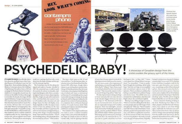 Article Preview: PSYCHEDELIC, BABY!, February 28th 2005 | Maclean's
