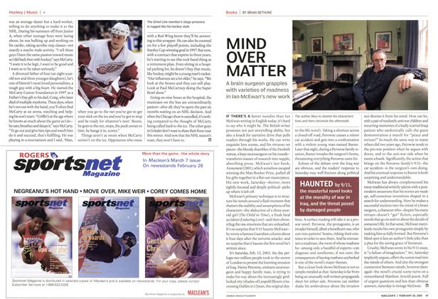 Article Preview: MIND OVER MATTER, February 28th 2005 | Maclean's