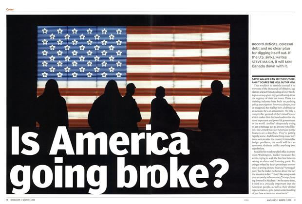 Article Preview: Is America going broke?, March 7th 2005 | Maclean's