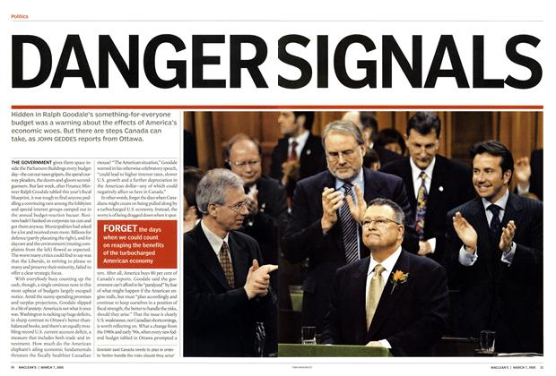 Article Preview: DANGR SIGNALS, March 7th 2005 | Maclean's