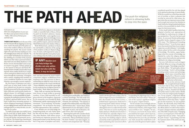Article Preview: THE PATH AHEAD, March 7th 2005 | Maclean's