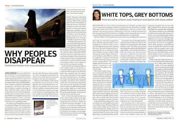 Article Preview: WHY PEOPLES DISAPPEAR, March 7th 2005 | Maclean's