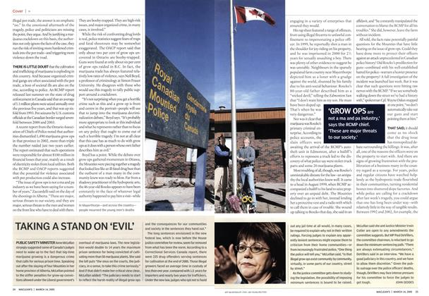 Article Preview: TAKING A STAND ON 'EVIL', March 14th 2005 | Maclean's