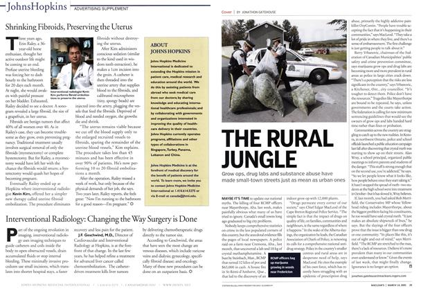 Article Preview: THE RURAL JUNGLE, March 14th 2005 | Maclean's