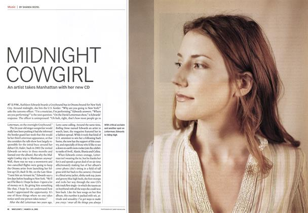 Article Preview: MIDNIGHT COWGIRL, March 2005 | Maclean's