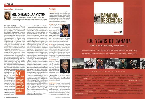 Article Preview: YES, ONTARIO A VICTIM, March 21st 2005 | Maclean's