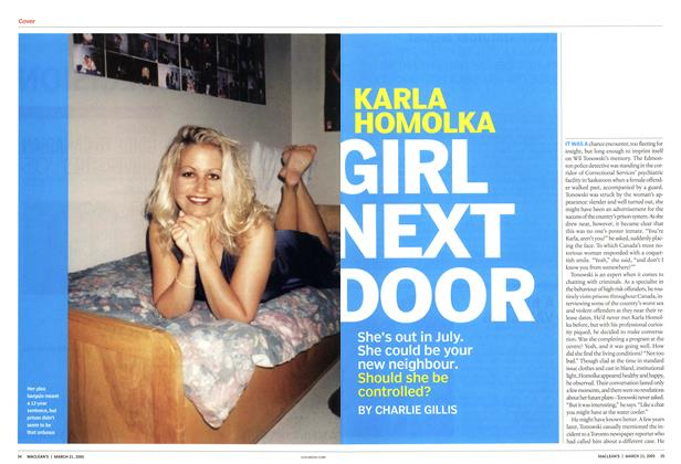 Article Preview: GIRL NEXT DOOR, March 21st 2005 | Maclean's
