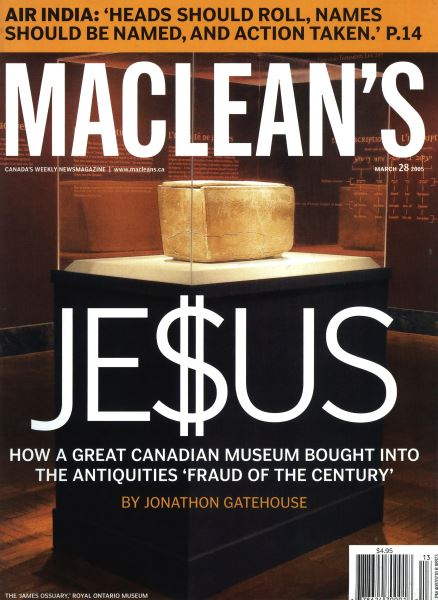 Issue: - March 2005   Maclean's