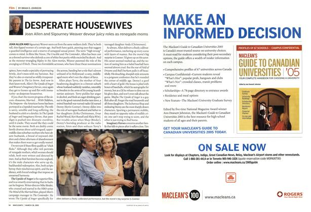 Article Preview: DESPERATE HOUSEWIVES, March 28th 2005 | Maclean's
