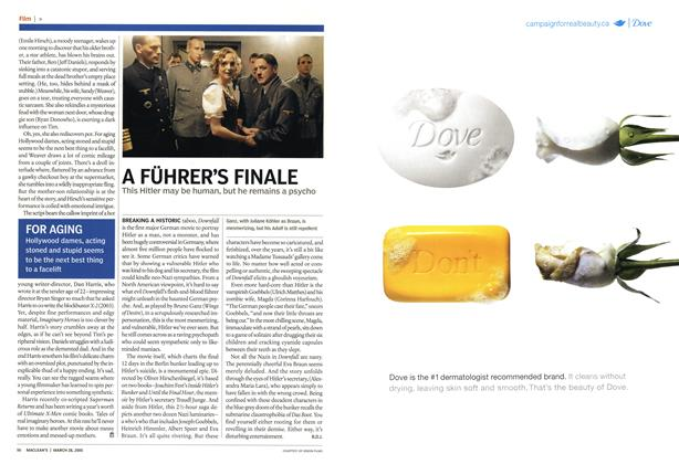 Article Preview: A FÜHRER'S FINALE, March 28th 2005 | Maclean's