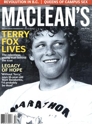 Article Preview: MACLEAN'S, April 4th 2005 | Maclean's