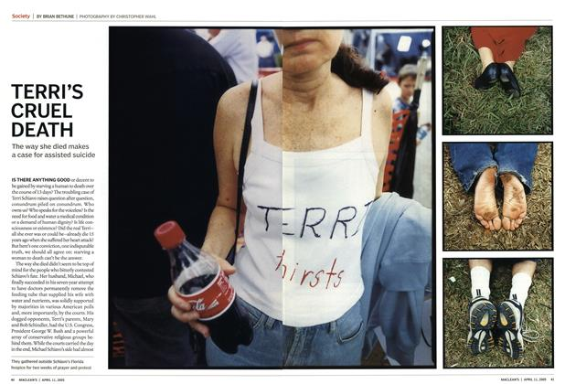Article Preview: TERRI'S CRUEL DEATH, April 11th 2005 | Maclean's