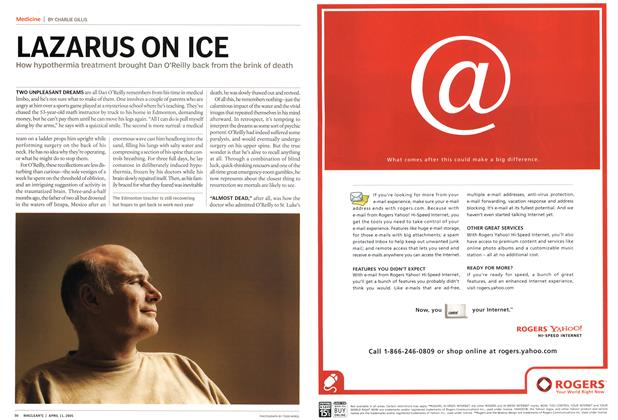 Article Preview: LAZARUS ON ICE, April 11th 2005 | Maclean's