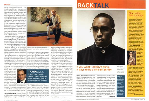 Article Preview: If you want P. Diddy's bling, it pays to be a little bit thrifty, April 11th 2005 | Maclean's