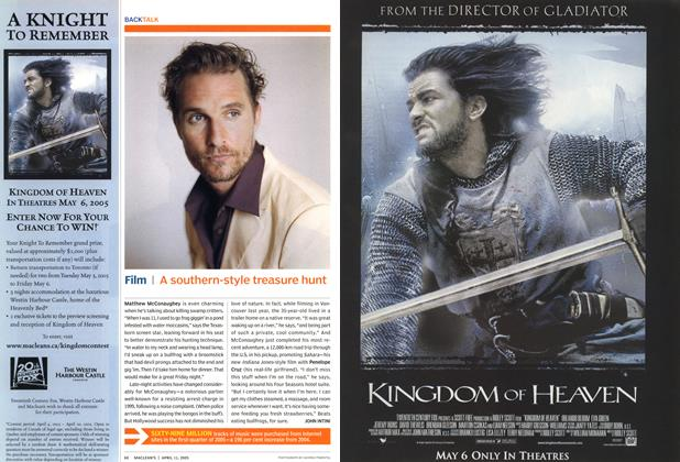 Article Preview: Film, April 11th 2005 | Maclean's
