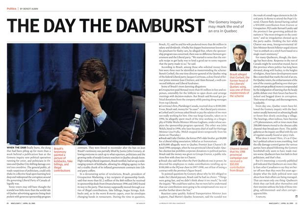 Article Preview: THE DAY THE DAM BURST, April 18th 2005 | Maclean's