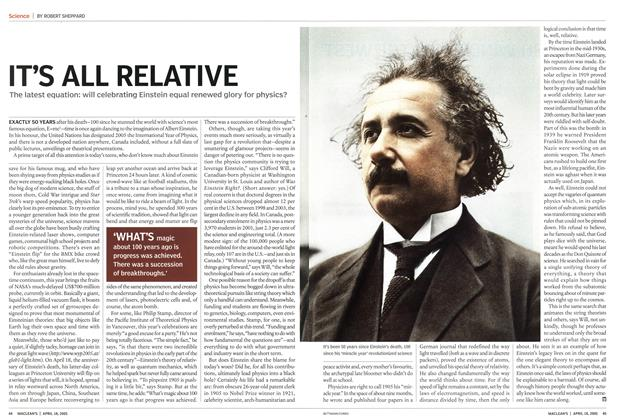 Article Preview: IT'S ALL RELATIVE, April 18th 2005 | Maclean's