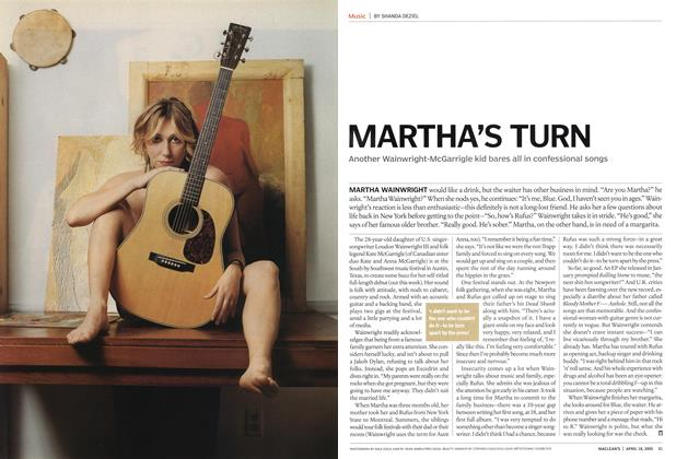 Article Preview: MARTHA'S TURN, April 18th 2005 | Maclean's
