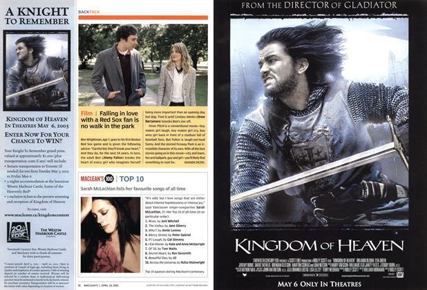 Article Preview: Film, April 18th 2005   Maclean's