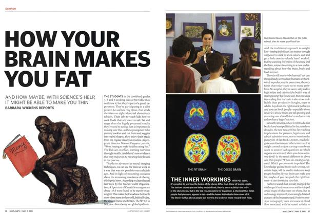 Article Preview: HOW YOUR BRAIN MAKES YOU FAT, May 2nd 2005 | Maclean's