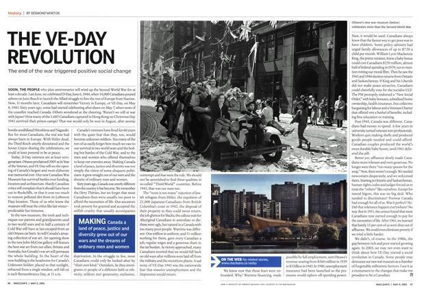 Article Preview: THE VE-DAY REVOLUTION, May 9th 2005 | Maclean's