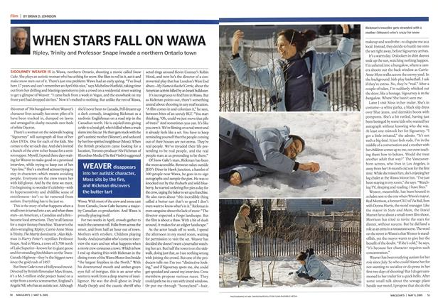 Article Preview: WHEN STARS FALL ON WAWA, May 9th 2005 | Maclean's