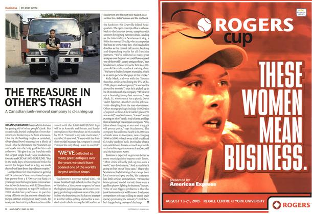 Article Preview: THE TREASURE IN OTHER'S TRASH, May 16th 2005 | Maclean's