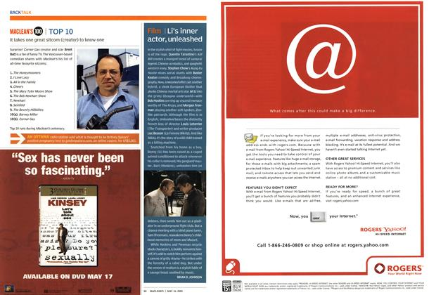 Article Preview: Film, May 16th 2005   Maclean's