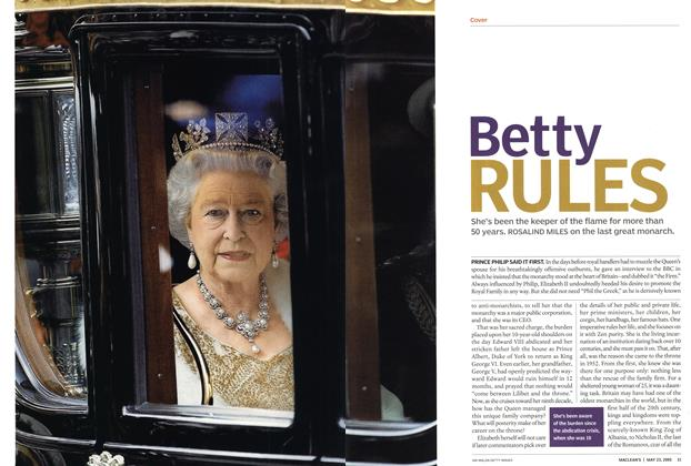 Article Preview: Betty RULES, May 23rd 2005 | Maclean's
