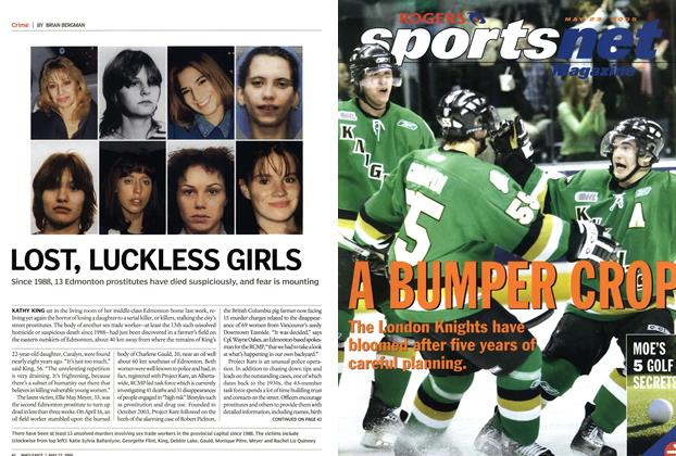 Article Preview: OST, LUCKLESS GIRLS, May 2005 | Maclean's