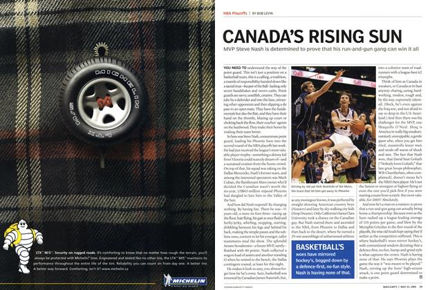 Article Preview: CANADA'S RISING SUN, May 23rd 2005 | Maclean's