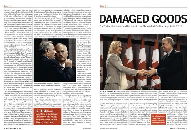Article Preview: DAMAGED GOODS, May 2005 | Maclean's