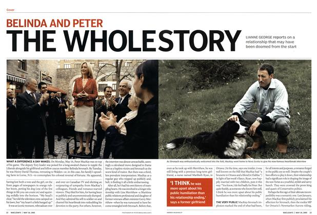 Article Preview: THE WHOLE STORY, May 30th 2005 | Maclean's