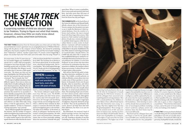Article Preview: THE STAR TREK CONNECTION, May 2005 | Maclean's