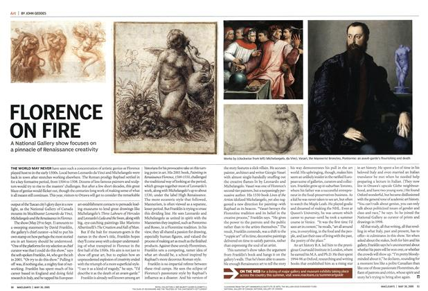 Article Preview: FLORENCE ON FIRE, May 2005 | Maclean's