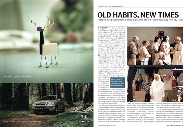 Article Preview: OLD HABITS, NEW TIMES, June 6th 2005 | Maclean's
