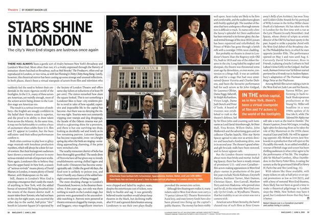 Article Preview: STARS SHINE IN LONDON, June 2005 | Maclean's