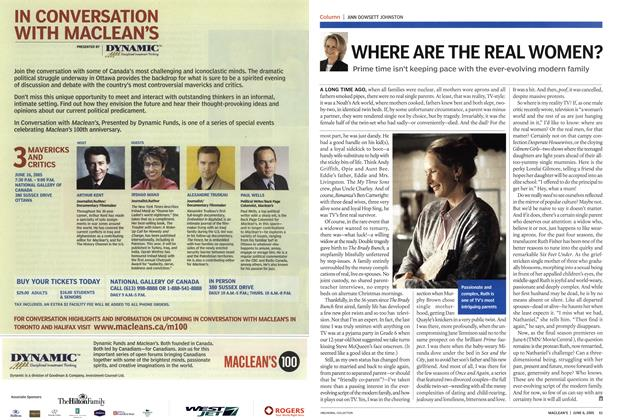 Article Preview: WHERE ARE THE REAL WOMEN?, June 6th 2005   Maclean's