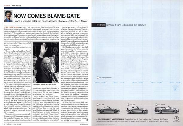 Article Preview: NOW COMES BLAME-GATE, June 13th 2005 | Maclean's