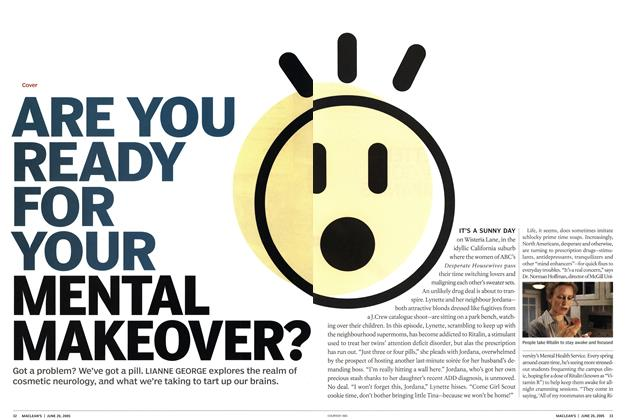 Article Preview: ARE YOU READY FOR YOUR MENTAL MAKEOVER?, June 20th 2005 | Maclean's