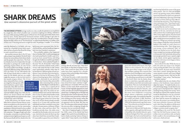 Article Preview: SHARK DREAMS, June 2005 | Maclean's