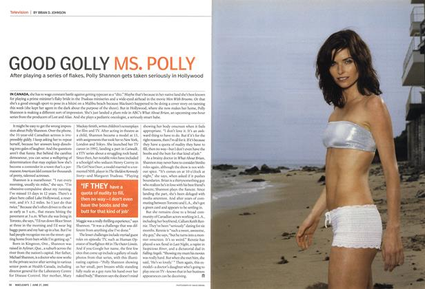Article Preview: GOOD GOLLY MS. POLLY, June 2005 | Maclean's