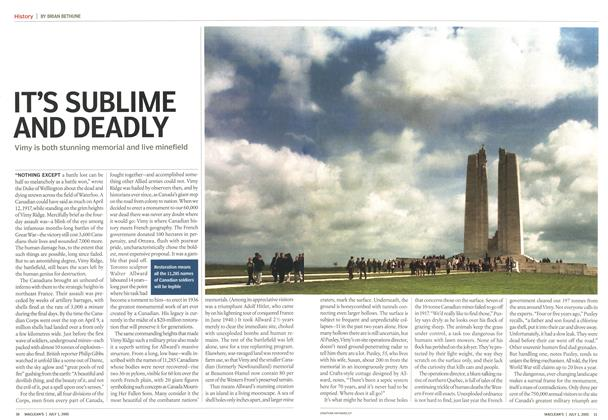 Article Preview: IT'S SUBLIME AND DEADLY, July 4th 2005 | Maclean's