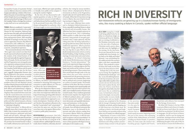 Article Preview: RICH IN DIVERSITY, July 4th 2005 | Maclean's