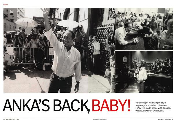 Article Preview: ANKA'S BACK, BABY!, July 4th 2005 | Maclean's