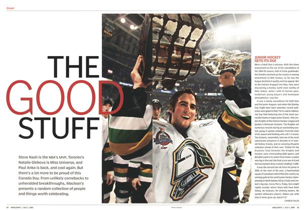 Article Preview: THE GOOD STUFF, July 4th 2005 | Maclean's